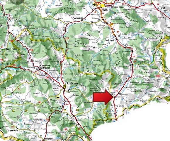 bujanovacka-banja-mapa